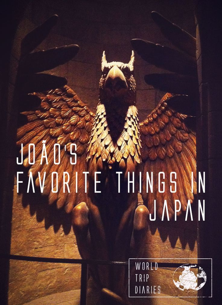 A blog post about the eleven things João (11) liked most in Japan - World Trip Diaries