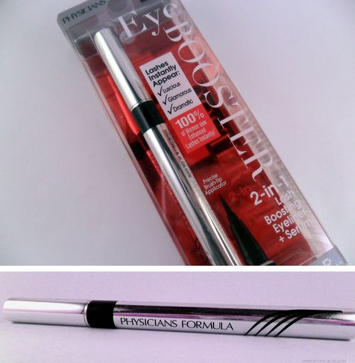 Physicians Formula 2 in 1 Lash Boosting Eyeliner + Serum Review + Swatches