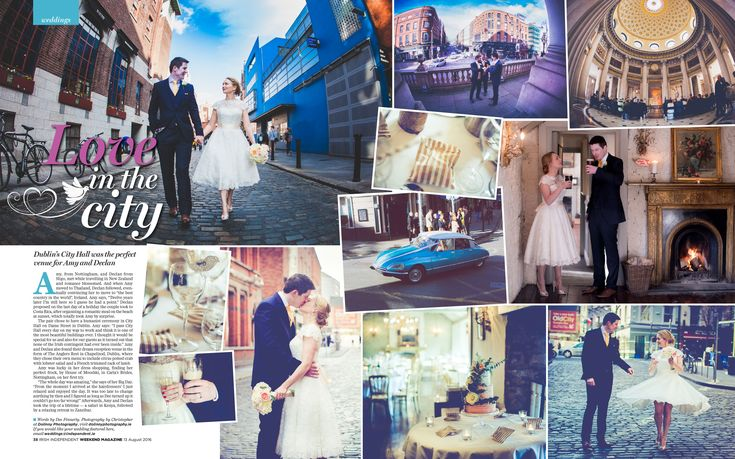 Wedding Photographers – Dolinny Photography | Wedding Photographer Dublin - Irish independent magazine featuring wedding of Amy & Declan - Wedding Photographers - Dolinny Photography