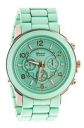 The Big Time Watch in Mint by *MKL Accessories