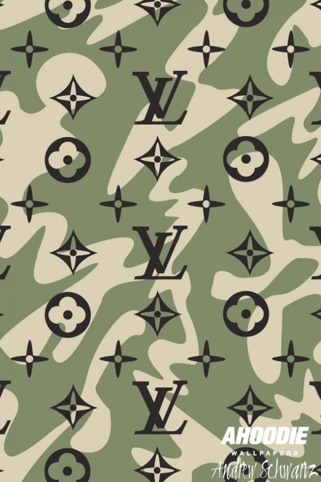 Louis Vuitton Military Iphone Wallpaper Diy Pinterest