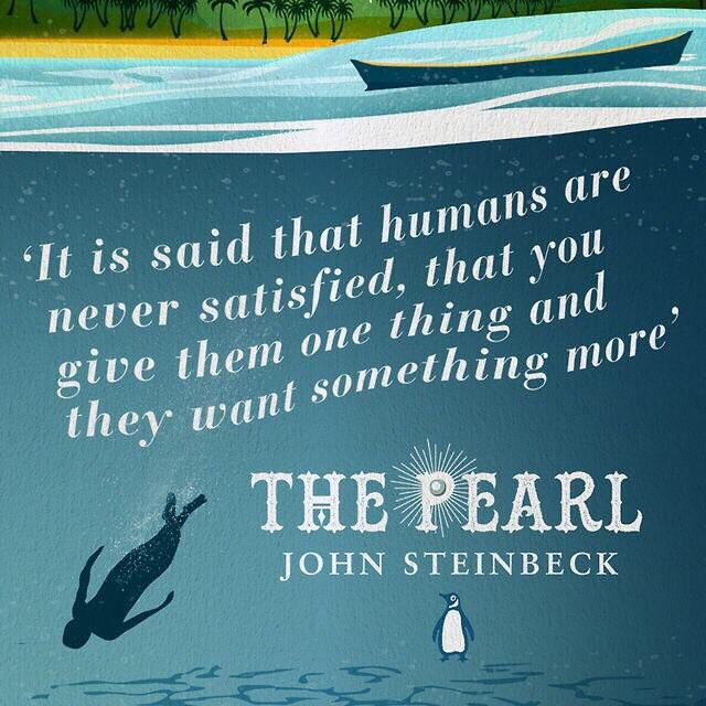 the pearl by john steinbeck symbolism