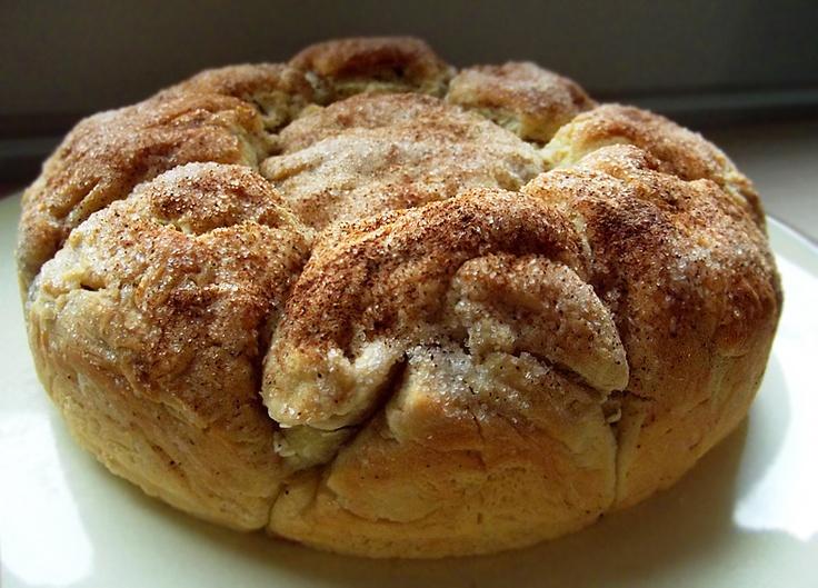 Colazione per tutti: Un po' brioche, un po' torta, un po' panino al latte...