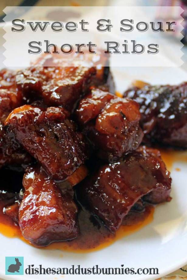 This recipe is one of my mother's absolute favorites for sweet and sour ribs and I can definitely understand why. She used to use this rib sauce for sweet and sour meat balls but they just seem to taste extra spectacular when it's used with short ribs instead. The ribs become so tender and the …