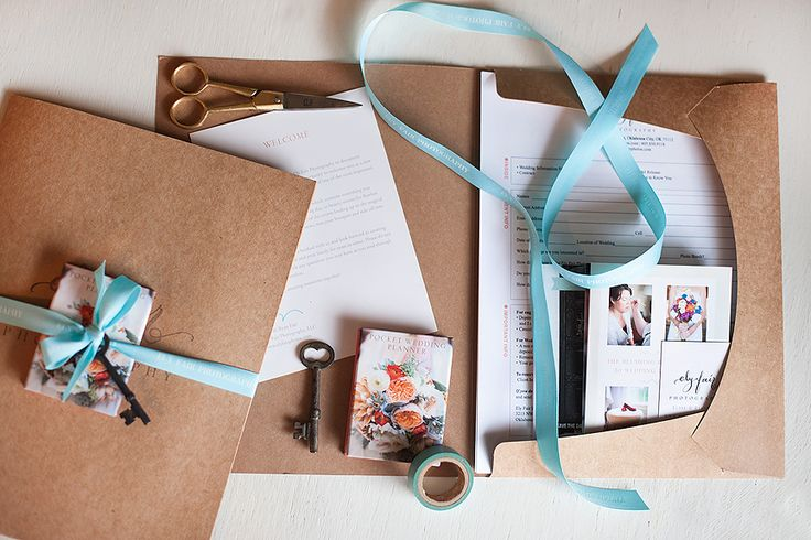 Welcome Pack from Design Aglow - Elyse Fair Photography.