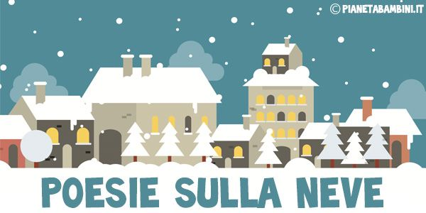 Poesie sulla neve per bambini