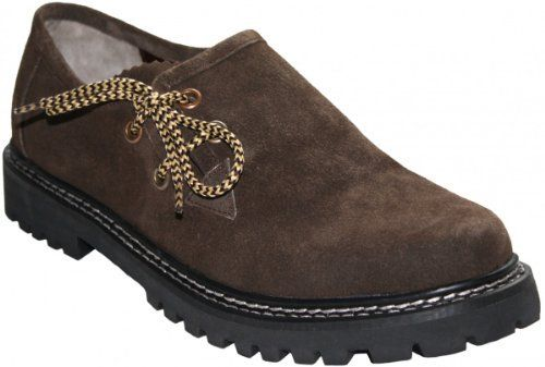 Haferlschuhe Trachtenschuhe Trachten Schuhe Echtleder wildleder Braun, Schuhgröße:45 - http://on-line-kaufen.de/german-wear/45-eu-haferlschuhe-trachtenschuhe-trachten-aus