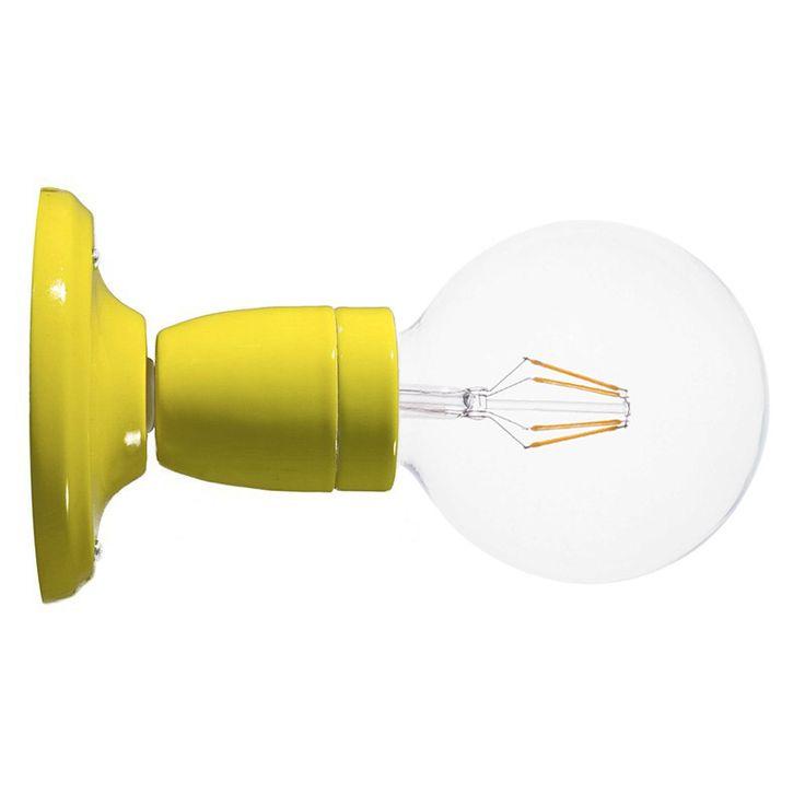Comprar   Lámpara zócalo porcelana pared o techo blanca   Lámparas Acabadas  #lamparas #decoracion #iluminacion #accesorioslamparas #lamparasoriginales #accesoriosiluminacion