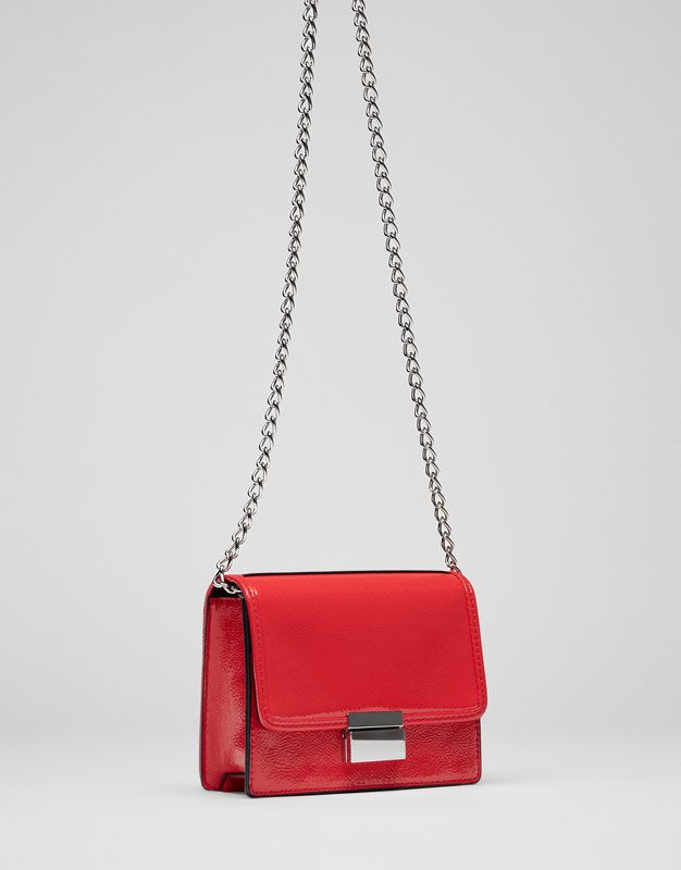 Mini mala a tiracolo com cadeado - Malas - Complementos - Mulher - PULL&BEAR Portugal