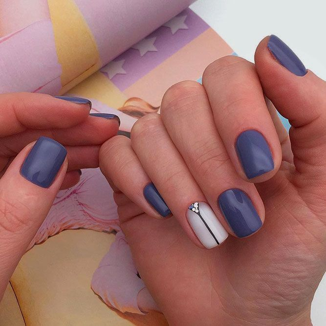 Ways To Rock Designs With Accent Nails Naildesignsjournal Com Accent Nails Accent Nail Designs Oval Nails