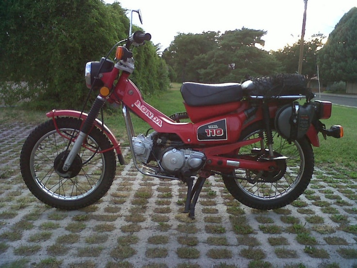 Honda Trail 110cc Dual Sport Motorcycle