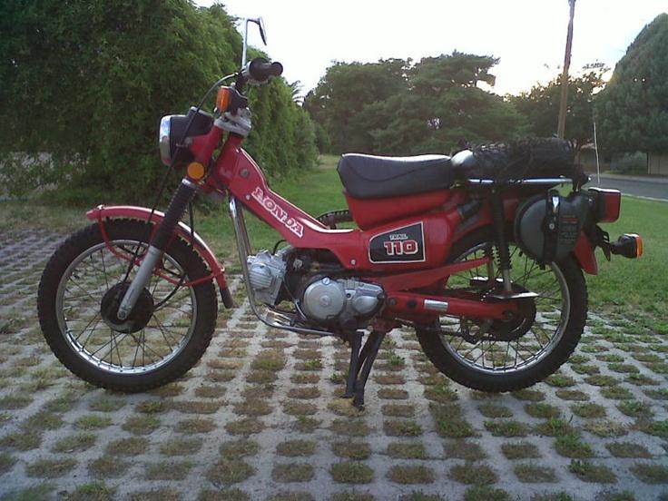 Honda Trail 110cc Dual Sport Motorcycle Dual Sport Bikes