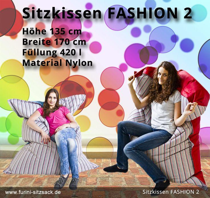 Sitzsack Faschion ein Sortiment für jeden Einrichtungsstil.  Der Fashion Sitzsack ist Deko-Element und zugleich individuelles Einrichtungsmöbel,  das sich nahtlos in charaktervolle Interieurs integrieren lässt.