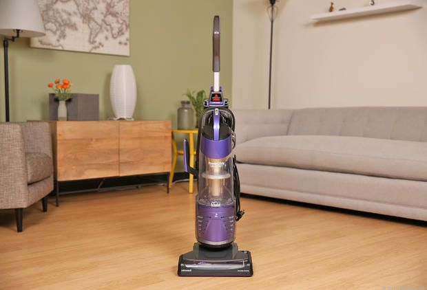 The Bissell PowerGlide Deluxe Pet Vacuum isn't the best for pets, but is tough on dirt and dust.