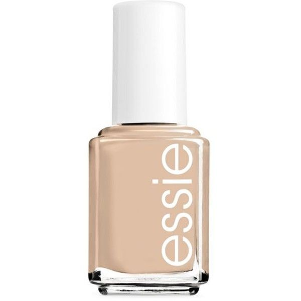 Essie All Eyes On Nudes Essie Nail Color (31 DKK) ❤ liked on Polyvore featuring beauty products, nail care, nail polish, nails, beauty, makeup, essie, filler, all eyes on nudes and essie nail color