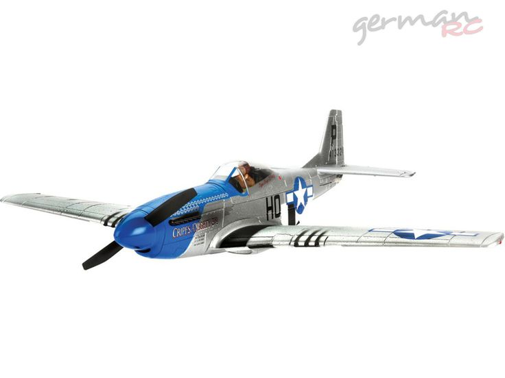E-flite P-51D Mustang 280 Samolot BNF Basic