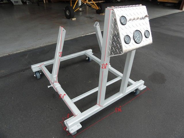 Home Made Engine Test Stand Project Ideas Pinterest