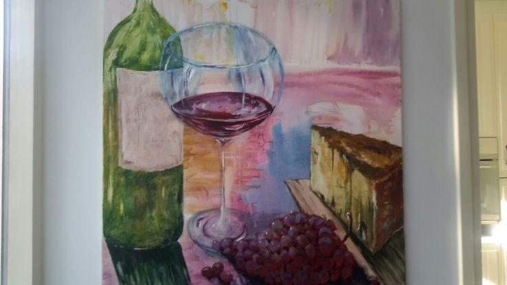 Het glas wijn