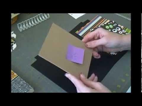 ▶ Mini Flip Photo Album Tutorial - YouTube