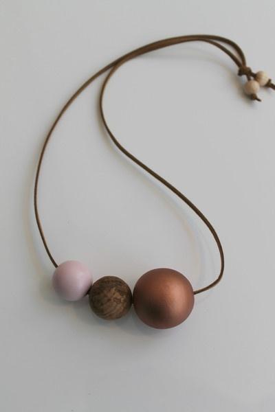 OhDeer — KUGLE halskæde (Kobber/rosa)