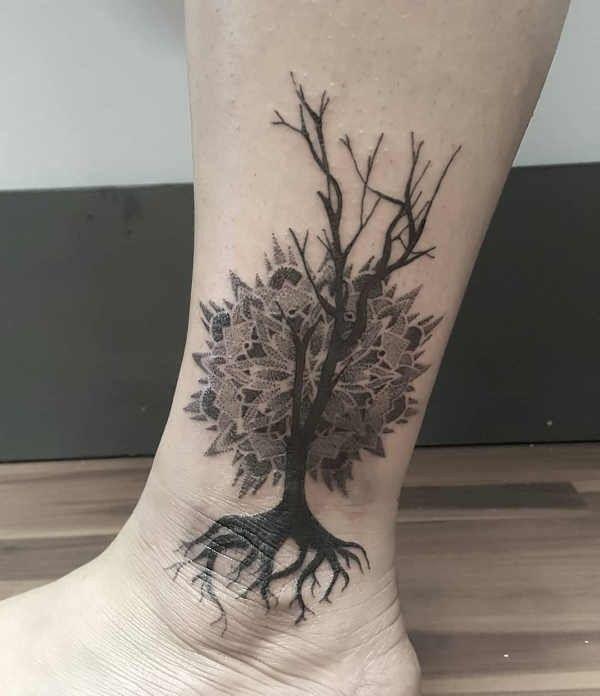 Tatuaż Drzewo Znaczenie Historia 50 Zdjęć Pomysł Na Tatuaż