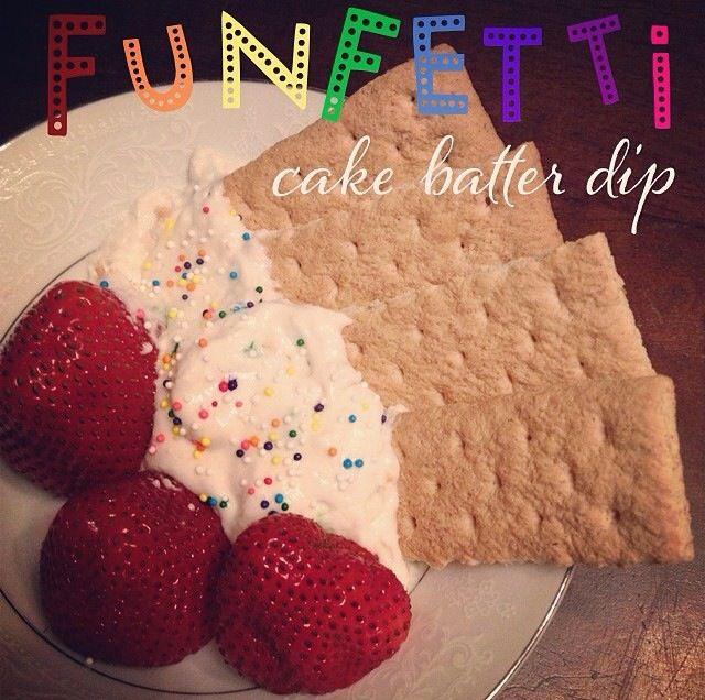 Cake Batter Recipes Pinterest