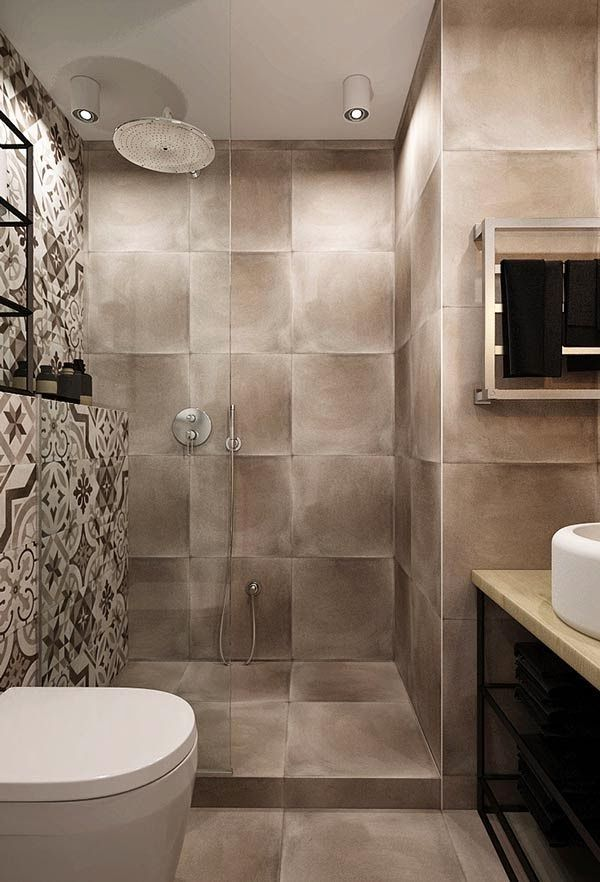 17 mejores ideas sobre azulejos para ba os peque os en for Banos modernos para apartamentos