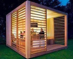shed - What I wanted was a pergola, but this would do.