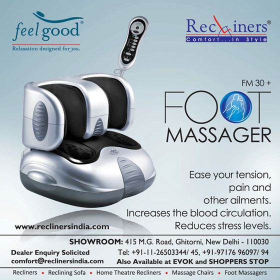 Ever feel the need to soak your feet in warm water at the end of a long and tiring day? Our Legease foot massager takes this feeling to the next level to soothe all that pain and tiredness away. Every part of the body can be reached through the nerve points on your feet. The Legease makes the best use of that knowledge to not only relieve your aching feet but also refresh your whole body.