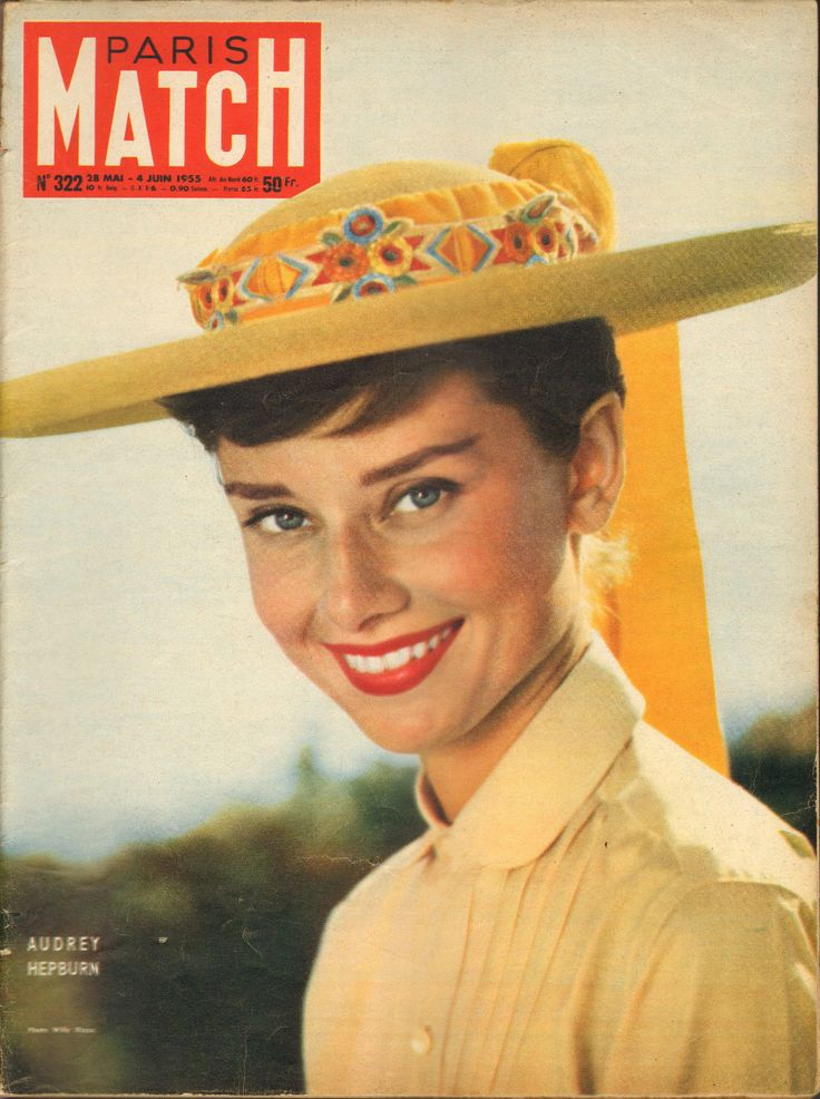 Paris Match N°322 Audrey Hepburn Gina Lollobrigida Derain Orson Welles Algerie   eBay