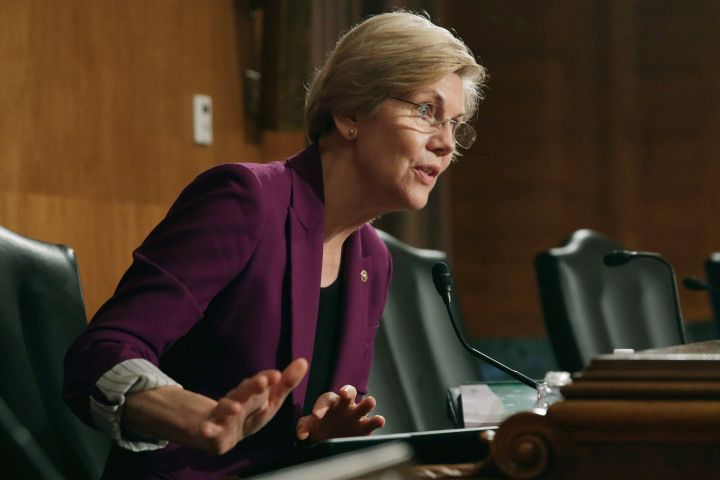 Talk is Cheap. Elizabeth Warren Slams Donald Trump For His International Women's Day Tweet