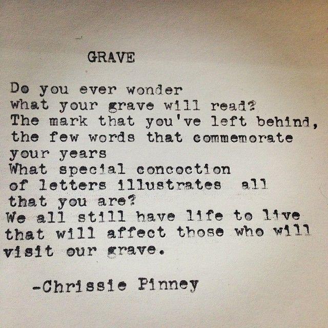 Grave. #worklife