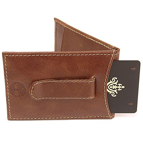 Leather Mens Money Clip Wallet Flip Thin Timberland Earthkeepers Super Efficient  www.artofdeals.com