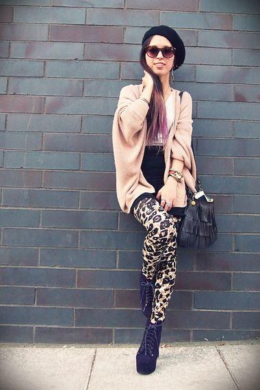 Da Cheetah Leggings   Women's Look   ASOS Fashion Finder