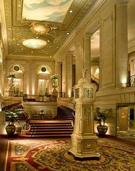 Hilton Chicago, Chicago. This is where we had our Engagement Pics taken 4yrs ago!!! LOVE this place.