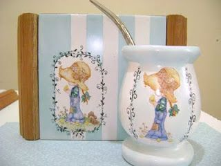 """Recuerditos de Papel: Mi nuevo Hobby...""""Pintura sobre Porcelana"""""""