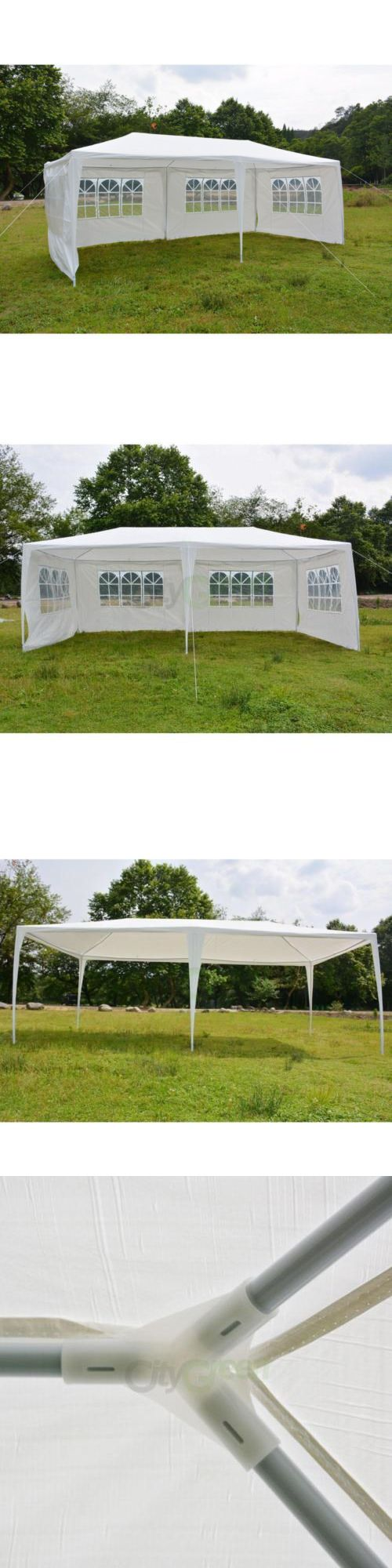 Marquees and Tents 180994: 10 X 20 Party Tent Outdoor Heavy Duty Gazebo Wedding Canopy White 4 Sidewalls -> BUY IT NOW ONLY: $62.55 on eBay!
