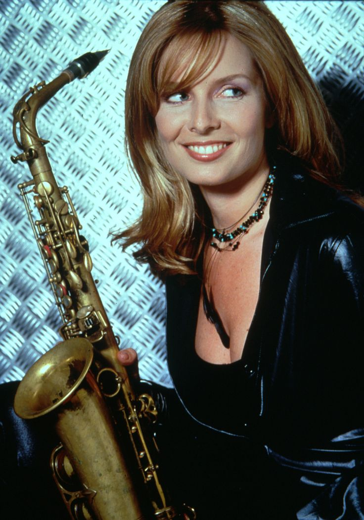 Candy Dulfer: awesome jazz musician!