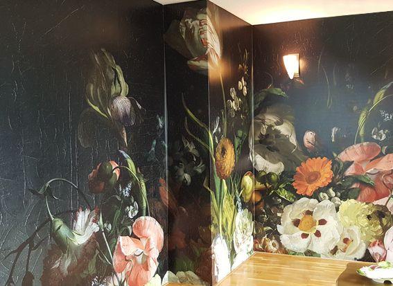 foto behang bloemen