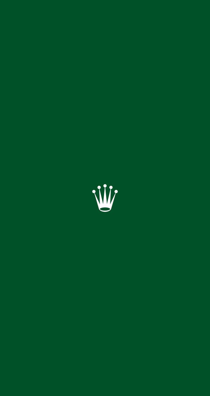 In Classic Rolex Green for Lock Screen & Home Screen.
