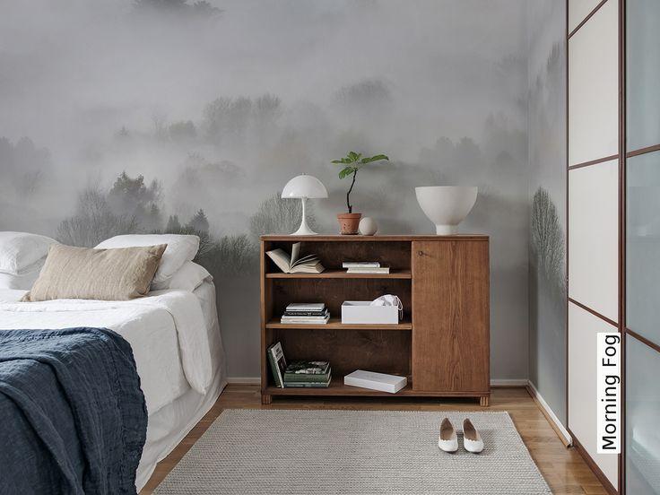 Tapete: Morning Fog - Die TapetenAgentur