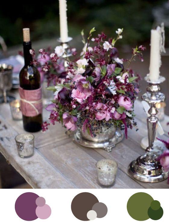 Ber ideen zu lila tischdekoration auf pinterest for Tischdeko aubergine