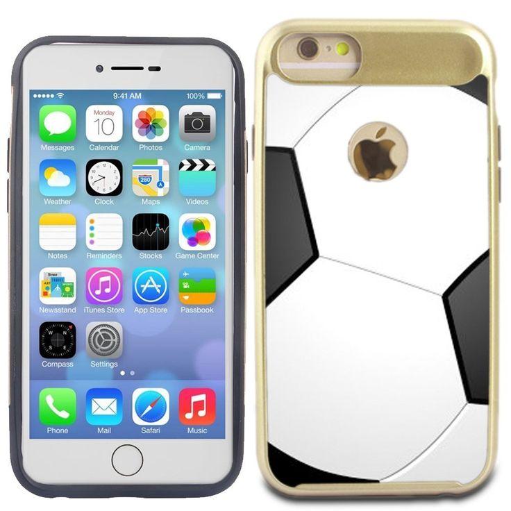 Corpcase iphone 7 case iphone 8 case soccer hybrid