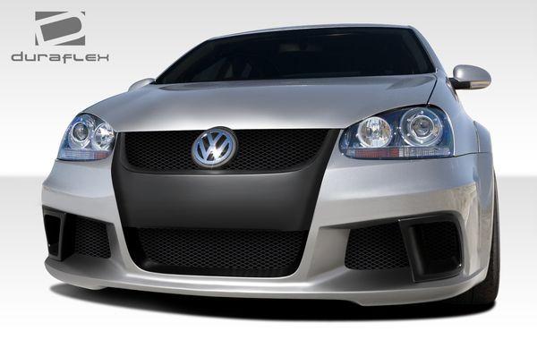 Duraflex 05-10 Volkswagen Jetta R-GT Wide Body Front Bumper Cover Kit