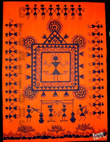 CreationS - The Essene of Arts: Warli - The Tribal art of India