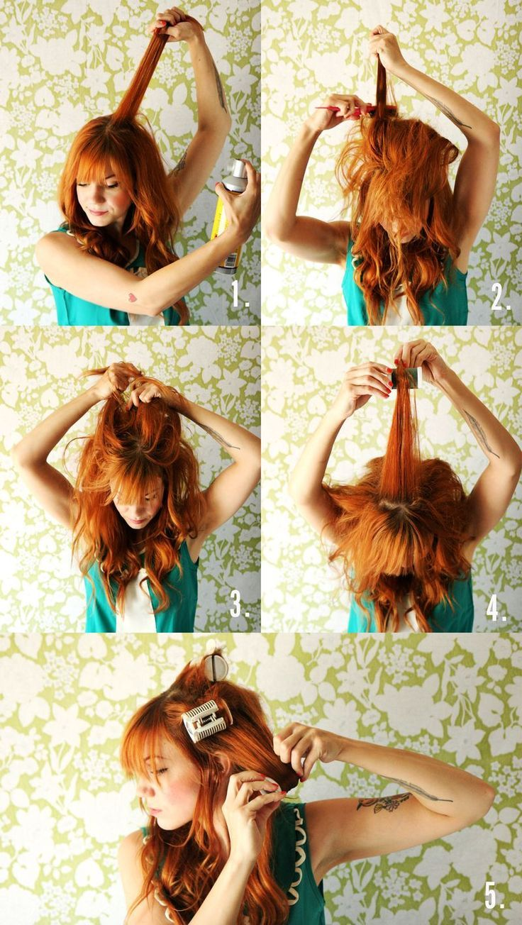 Hair Tutorials : Dolly inspired hair
