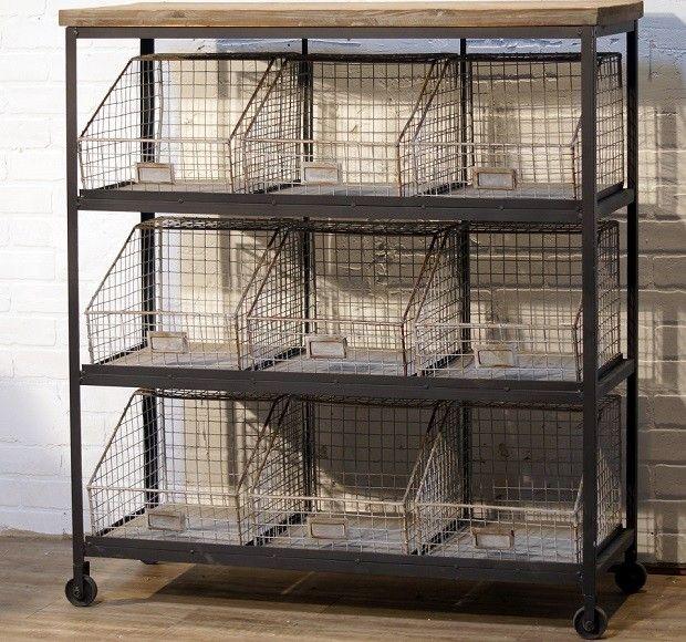 For The Walk In Pantry Rolling Bin Rack Metal Bin Rack Storage Bin Rack Country Comfort