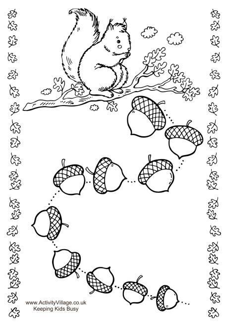 Squirrel reward chart