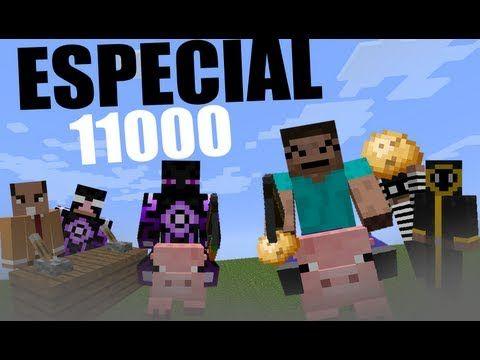 ESPECIAL 11000 - Carreras de Cerdos (con ElRichMC) ^_^ - YouTube