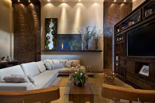 Decor salteado blog de decora o constru o arquitetura paisagismo home theater veja - Sala home theatre ...